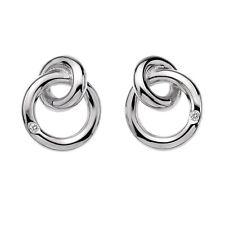 DE308 NEW Genuine Hot Diamonds Sterling Silver Diamond Rings Earrings £59.95