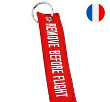 Hot! Porte-Clés Remove Before Flight Clefs Pilote Aviation Keychain Keyring