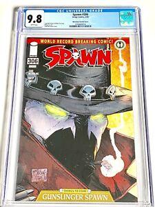 Spawn #306 CGC 9.8 McFarlane Cover