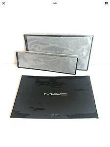 MAC Cosmetic Multi-Purpose Clear Zip Closure Bags Set of 2 - New