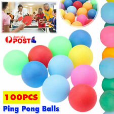 New listing 100Pcs Colored Ping Pong Balls Mixed Colors For Table Tennis Entertainment Game