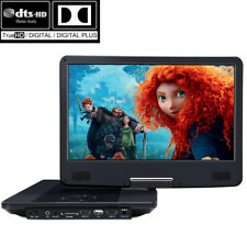 "HD 14"" Portable Blu Ray DVD Player Battery HDMI MP4 Video Dolby Audio V-IN OUT"