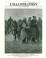 Document ancien après l'offensive du 25 septembre en Champ 1915 issu de magazine
