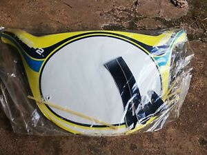 Nos old school bmx 80's type 2  Number Plate Panel vintage (haro style)