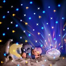 LED Star Night Light Projector Baby Kids Sleep Starry Night Lamp Room Decor