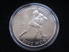 """MDS corea 2000 won 1987 """"juegos olímpicos en seúl 1988-anillos"""""""
