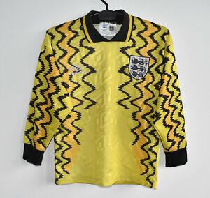 ENGLAND rare vintage retro UMBRO GK shirt trikot jersey maglia maillot