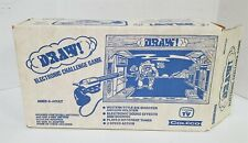 O4 VINTAGE 1970'S COLECO DRAW ELECTRONIC CHALLENGE WESTERN GAME WITH BOX
