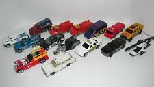 Mixed Lot of 15 Cars- Hot Wheels and Matchbox  Mostly 90s-00s Emergency vehicles