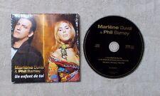 """CD AUDIO / MARLÈNE DUVAL & PHIL BARNEY """"UN ENFANT DE TOI"""" 2T CD SINGLE 2002 POP"""