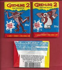 1990 Topps Gremlins 2 The New Batch single Wax Pack