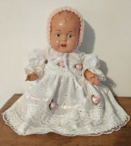 Vintage Sunny Toys Celluloid Bonny Baby Doll 40cm Japan