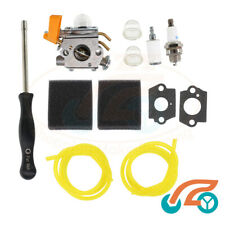 Carburetor Air Filter Fuel Line Kit For Ryobi RLT 26SDNB Trimmer Carburettor