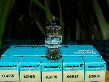 IC International Korea 6GH8A 6EA8 triode pentode NIB sleeve five tube tubes