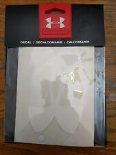 Under Armour 6 Inch Decal - White - UDE1202 - New In Package!