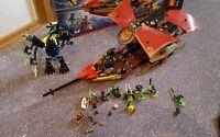 Lego Ninjago 70738 Ninja Weihnachten Weihnachtsgeschenk wie neu Flugsegler