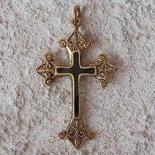 Neu BRONZE Anhänger KREUZ Keltisch KETTENANHÄNGER Keltenkreuz