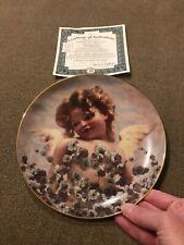 "Cherubs of Innocence Angel Plate ""A Loving Gaze� by Constantin Makowsky (Jh)"