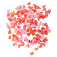 Approx.200pcs Shiny Heart Wedding Confetti Scrapbooking Embellishment DIY Craft