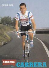 CYCLISME carte cycliste PAVLIC JURE équipe CARRERA Jeans