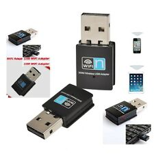 MINI USB DONGLE WIFI Adattatore Wireless Rete Adattatore 300Mbps WLAN 802.11 B G N