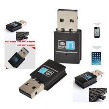 Mini USB WiFi Dongle Adaptador De Red Adaptador Inalámbrico 300 Mbps Wifi 802.11 B G N