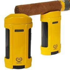 Myon Feuerzeug mit Zigarrenablage Quadro-Jet Cohiba-Stil