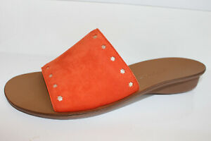 Paul Green Pantolette orange Gr. UK 6,5 = Gr. 40 NEU (#97)