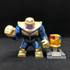 "Super Hero Marvel Thanos """" Custom """" Lego Thanos Gauntlet Mini Figures"