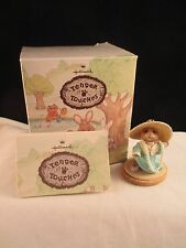 Hallmark Tender Touches In Mom's Easter Bonnet Bunny w/box & COA *nb