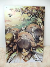 Attack on Titan Metal poster Funimation 3-D metal poster Mint condition