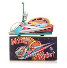 Rocket USA Moon Rocket Tin Japan 1997 MIB