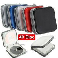 Wallet Album Hard Box Holder Organizer CD DVD Case Double-side Storage Sleeve