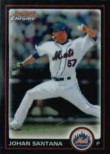 2010 Bowman Chrome #80 Johan Santana Mets NM-MT