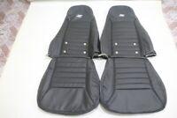(1970)_(1978) Datsun240z/260z/280z Leather Replacement SPORT Seats Cover Black