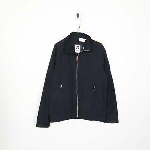 MURPHY & NYE Zip Up Coat Jacket Navy Blue Large L