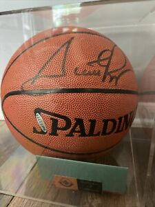 AUTHENTIC SCOTTIE PIPPEN Bulls Champion Autographed Signed Ball UPPER DECK COA