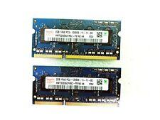 25 x LOT HYNIX 2GB 1Rx8 PC3 - 12800S DDR3 Laptop RAM/Memory SODIMM