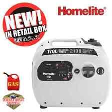 Homelite UTI2100S 2,100-Watt Silver Gasoline Powered Quiet Inverter Generator