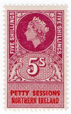 (I.B) Elizabeth II Revenue : Petty Sessions (Northern Ireland) 5/-