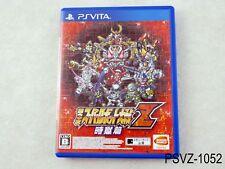 Super Robot Taisen Z Hakai-hen Japanese Import PS Vita Japan Wars US Seller A