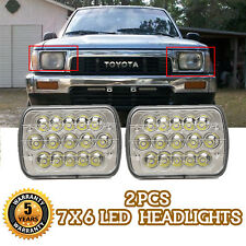 """Newest Brightest 105W 7X6"""" 5X7"""" LED Headlight DRL For Chevrolet Jeep Cherokee XJ"""
