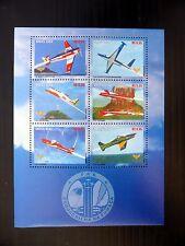 BRAZIL 2002 Aircraft M/Sheet MS3291 U/M FP9612