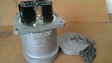 Used Russellstolll Receptacle JRSA1034H 100 amp 600 vac