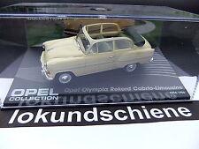 Opel Collection .. Olympia Rekord Cabrio-Limosine 1954/56 .. 1:43 IXO No.05#4078