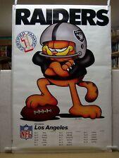 Jim Davis: Garfield Los Angeles Raiders NFL Poster (USA)