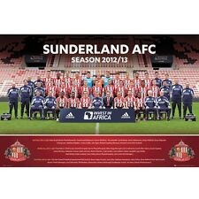 Sunderland AFC 2012-2013 Team Squad Poster new EPL Black Cats English Premier