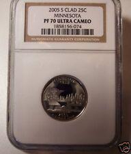 2005-S Minnesota Quarter! NGC Proof 70 - Ultra Cameo!