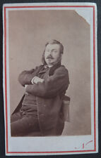 Photo Cdv Nadar Personnalité Vers 1875