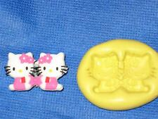 Hello Kitty Push Mold Food Safe Silicone #774 Cake Chocolate Resin Clay Fondant